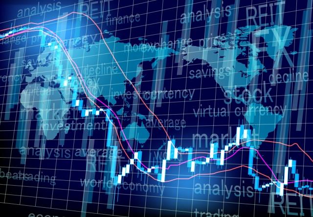 ワールドマーケット株価チャートの推移
